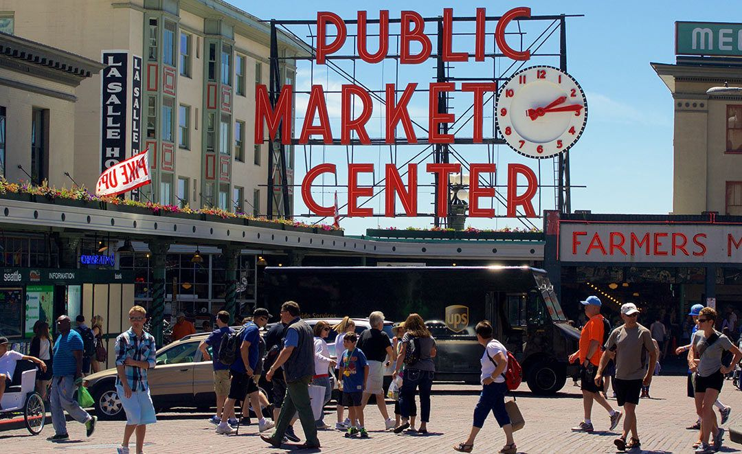 Historic Pike Place Market in Seattle Installs SemaConnect Electric Vehicle Charging Stations