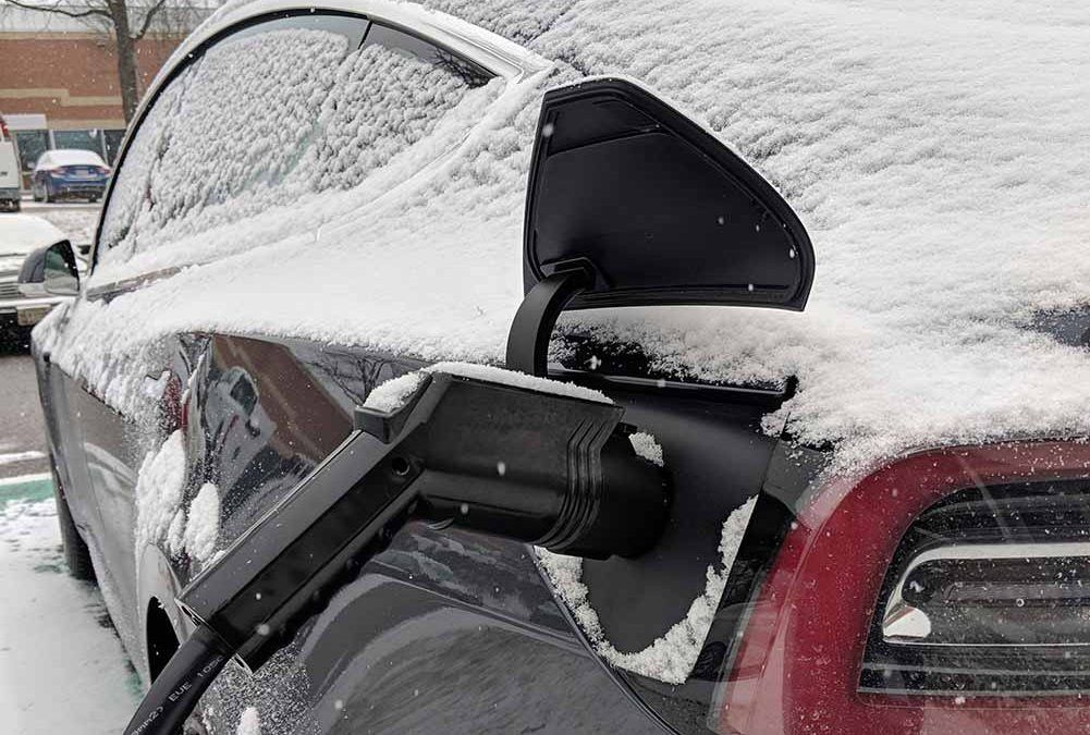 Question: Can Electric Vehicle Charging Stations Withstand the Cold?