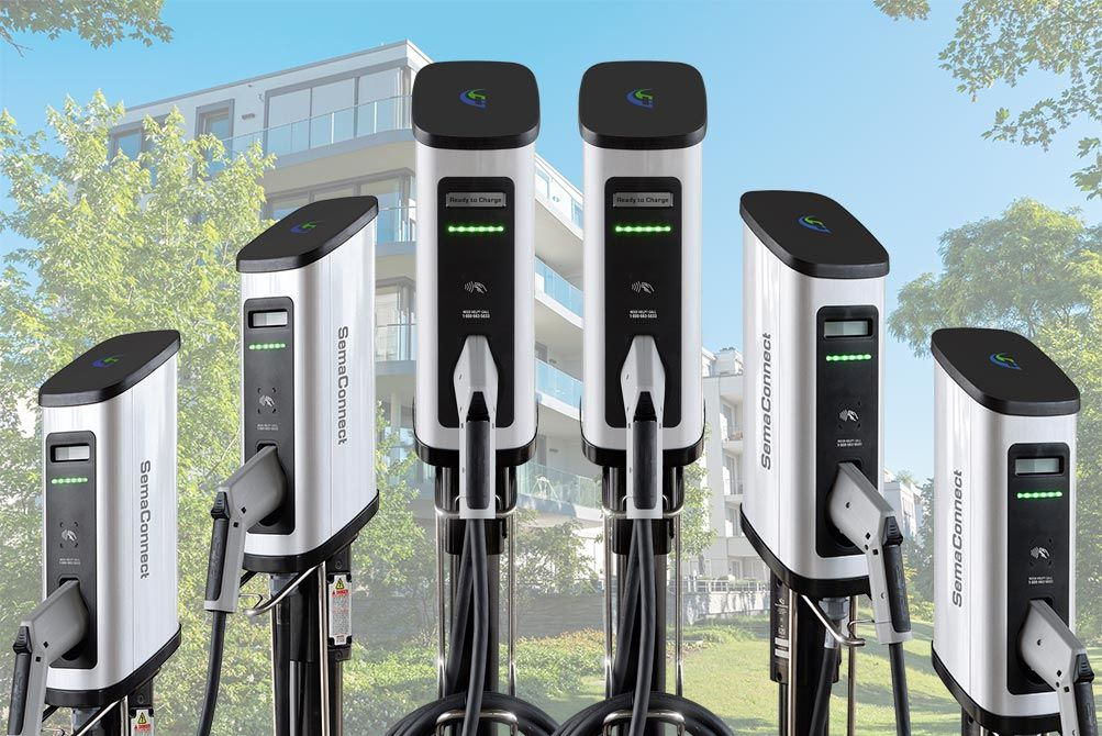 SemaConnect Releases Series 5 Smart EV Charging Station for Multifamily Applications
